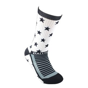 STAR SOCKS WHITE